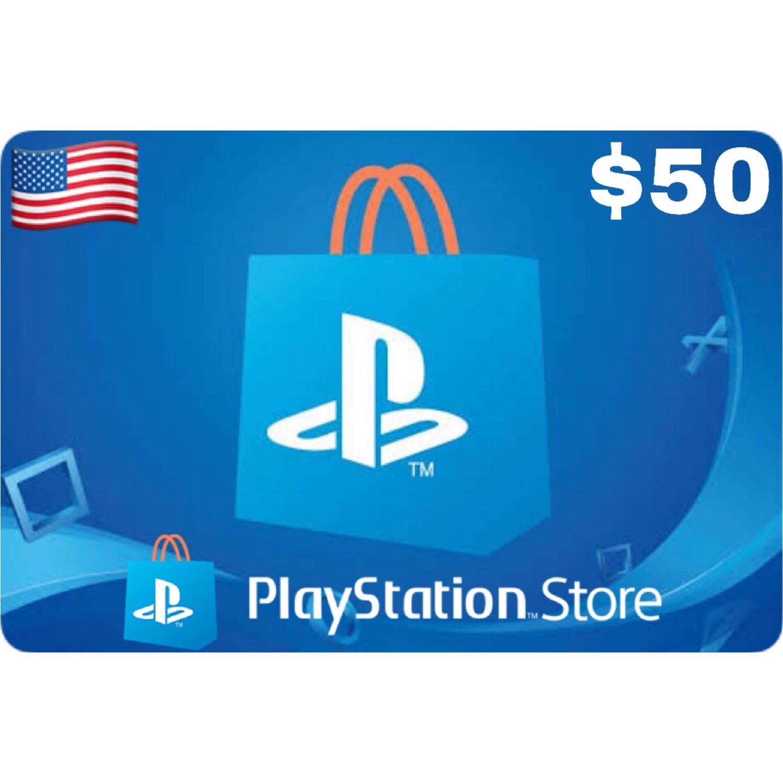 Playstation (PSN Card) USA $50