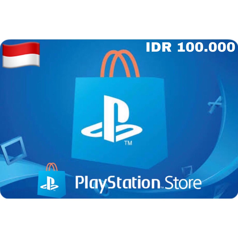 Playstation (PSN Card) Indonesia IDR 100,000
