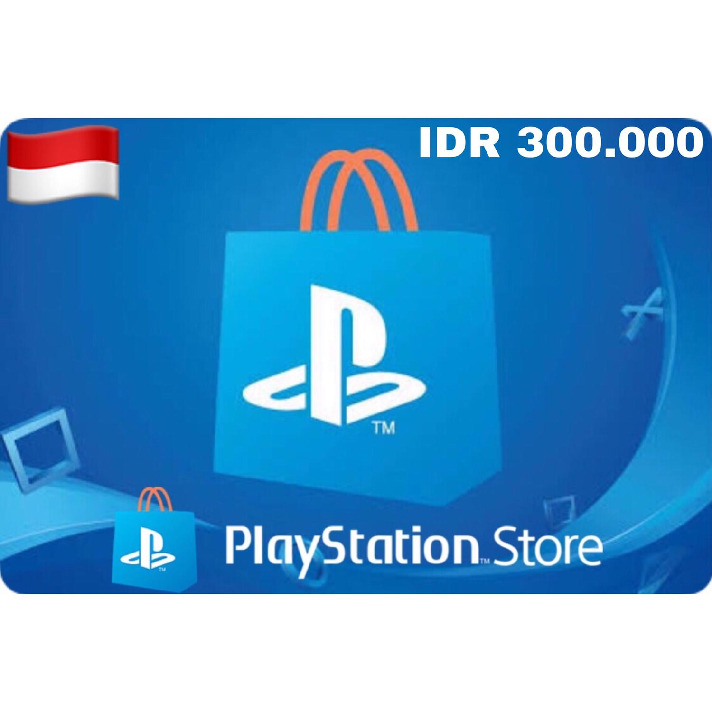 Playstation (PSN Card) Indonesia IDR 300,000