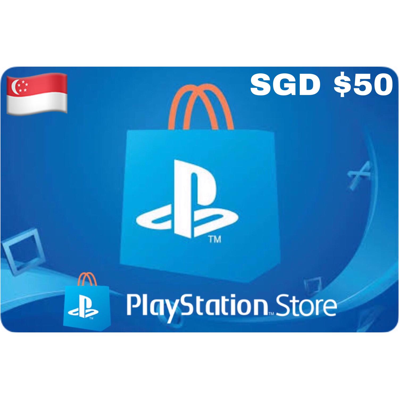 Playstation (PSN Card) SGD $50