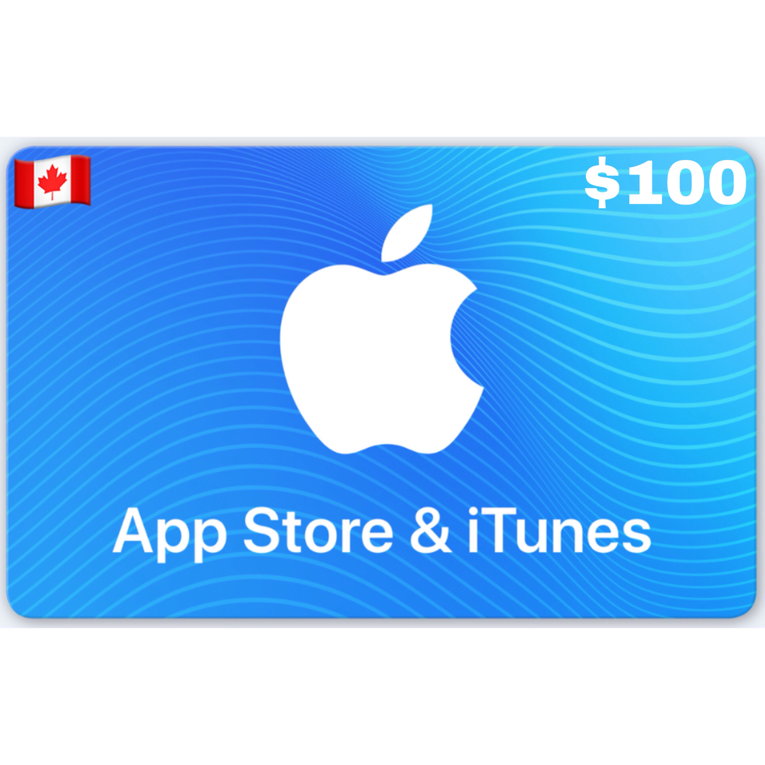 Apple iTunes Gift Card Canada CAD $100