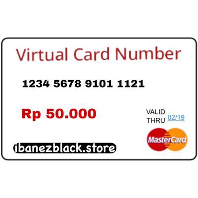 VCC Apple ID Indonesia IDR 50.000 (Masa Aktif 3 hari)