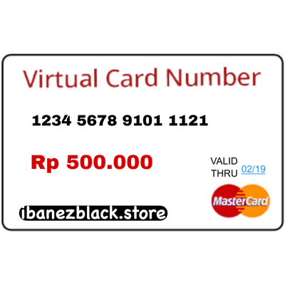 VCC Apple ID Indonesia IDR 500.000 (Masa Aktif 3 hari)