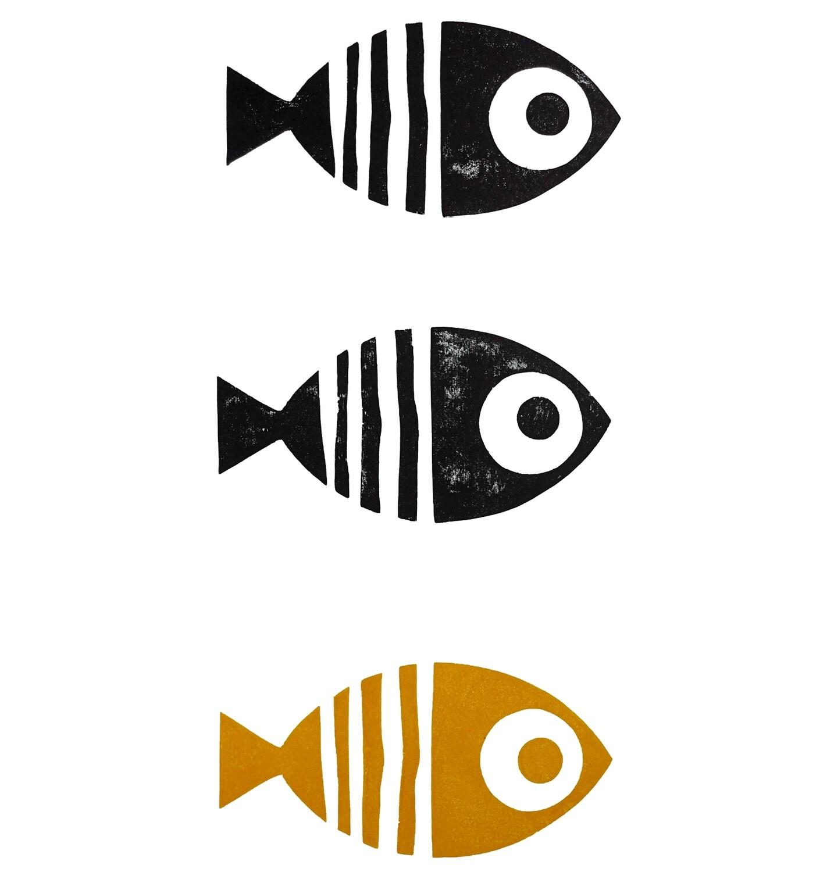 Fish Triptych, 2021