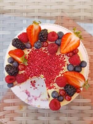 Himbeere & weiße Schokolade | Torte