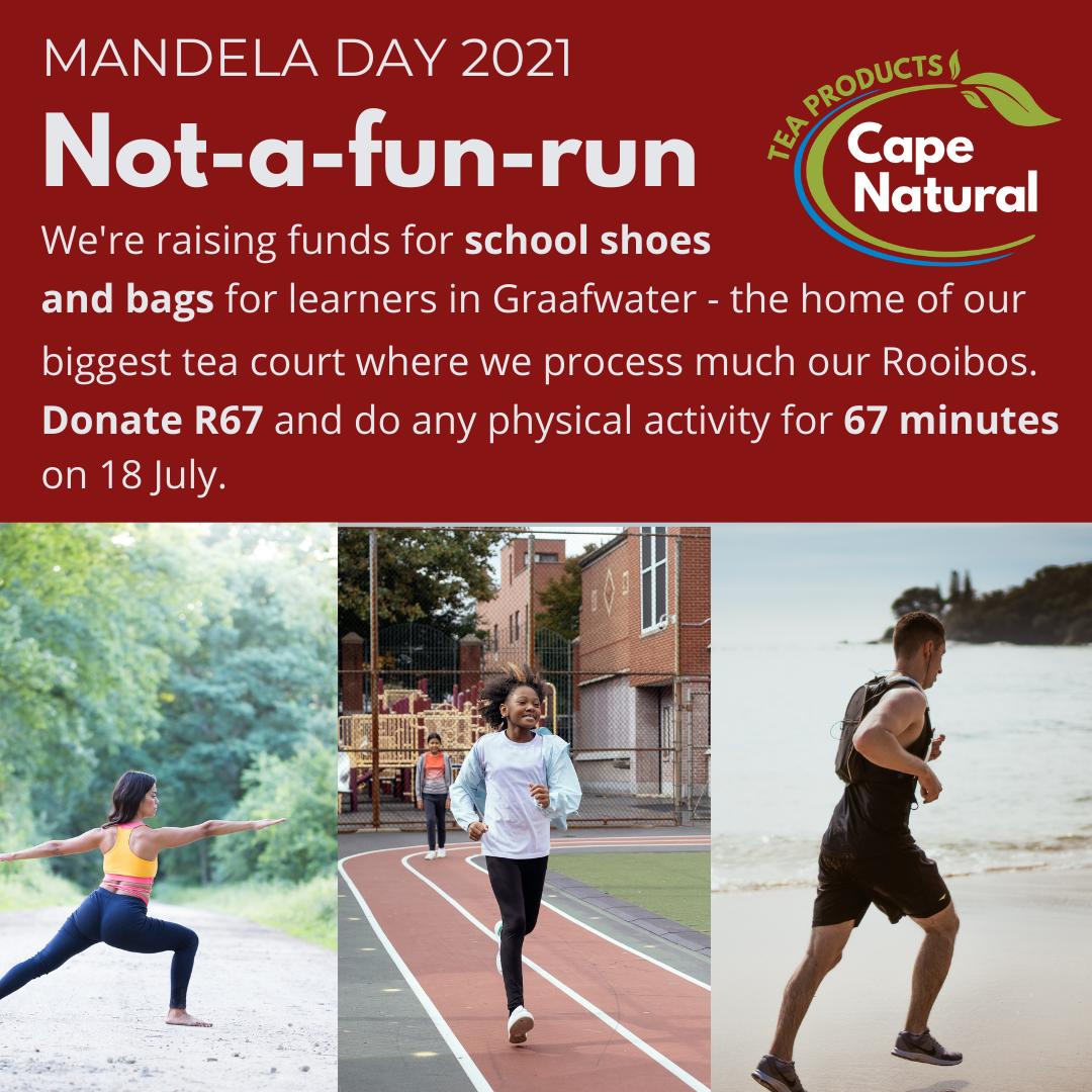 Mandela Day 67-minute Exercise Challenge