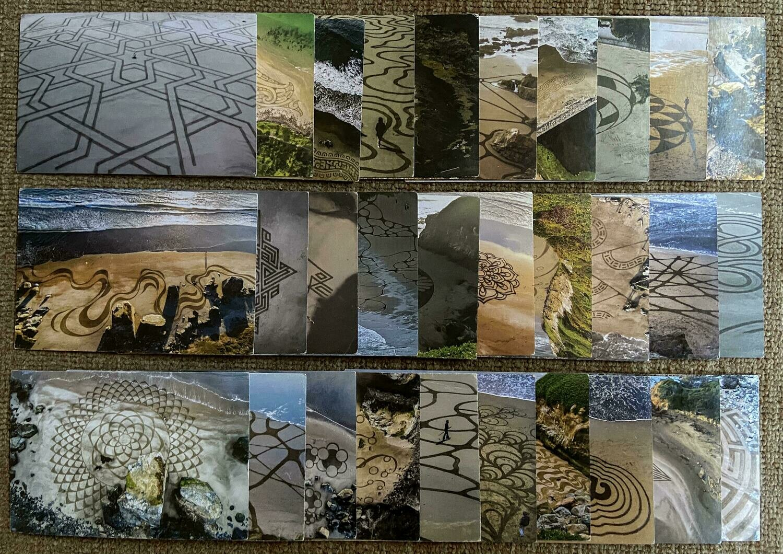 (7) Playa Painting Postcard Set