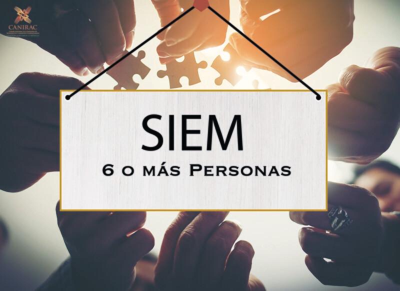 SIEM - Cuota de 6 o mas Personas (Personal ocupado)