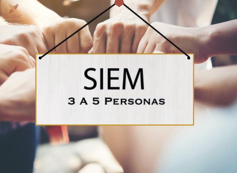 SIEM - Cuota de 3 a 5 Personas (Personal ocupado)