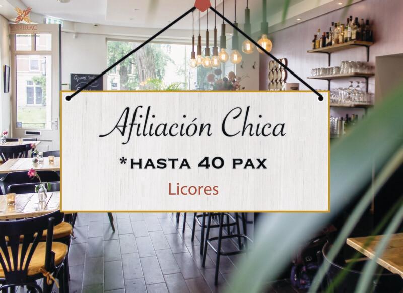 AFILIACIÓN CHICA, LICORES