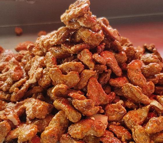 La Cashew Garlic Chili Pepper - Hạt Điều vị Tỏi Ớt