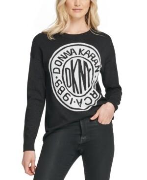 DKNY Graphic Logo Sweatshirt ($89 Retail) Size XS