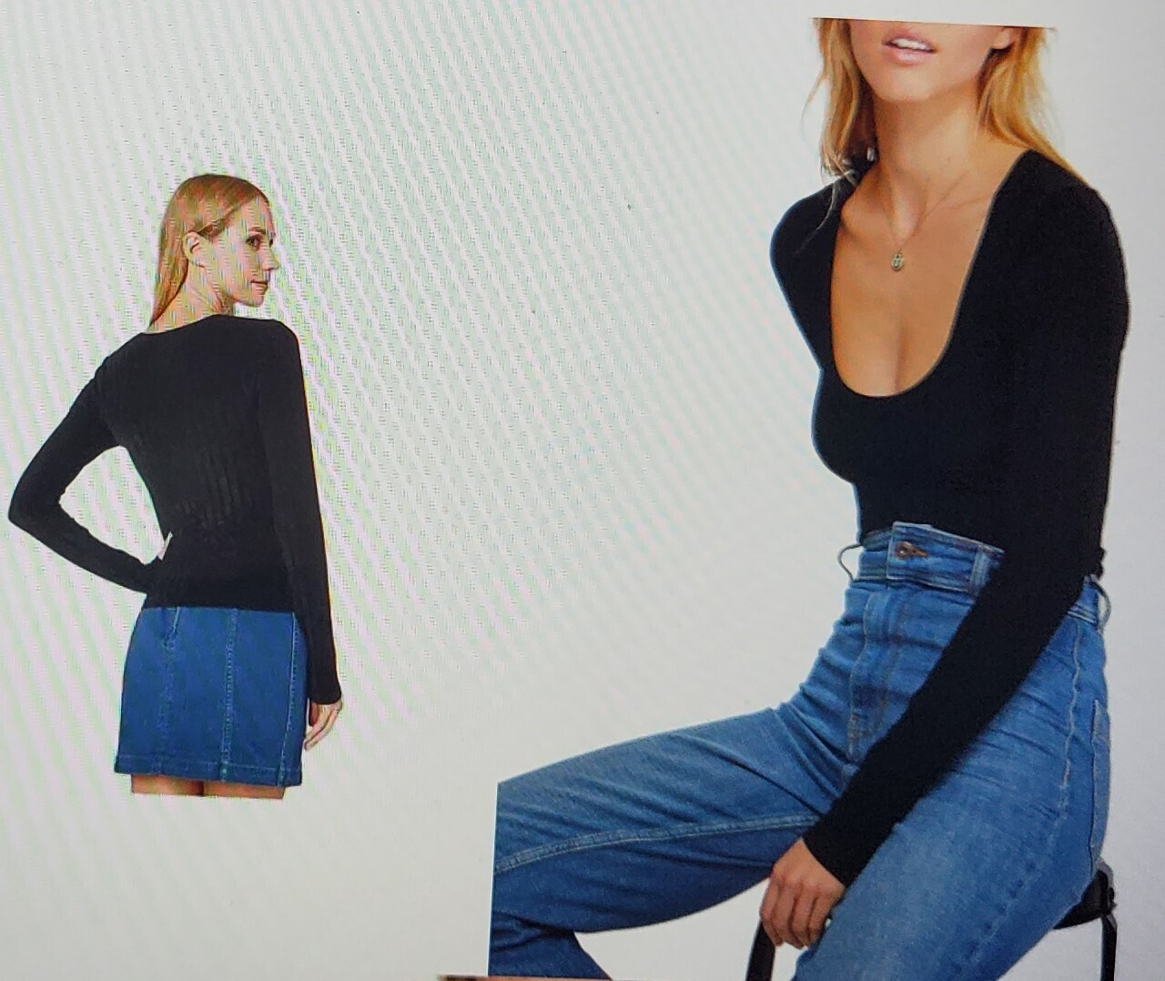 Free People Scoop Neck (Retail $48) Size XS