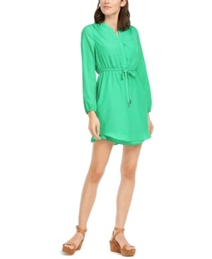 Maison Jules Long Sleeve Short Sheath Dress (Retail $79.50) Size Junior XS