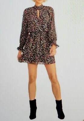 Rachel Roy Floral-Print Dress (Retail $109) Size XXL