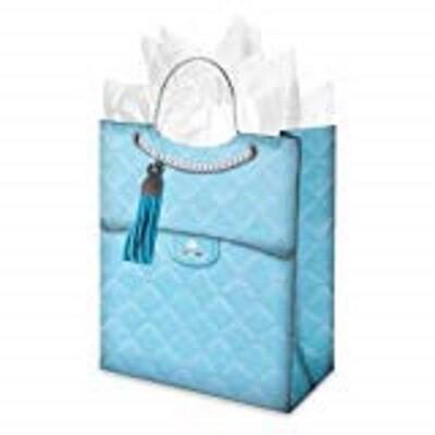 Gift Bag Blue