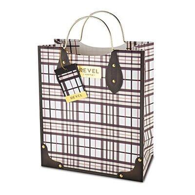Gift Bag Plaid