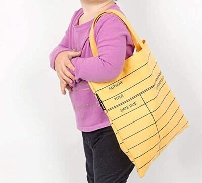 Library Card Tote