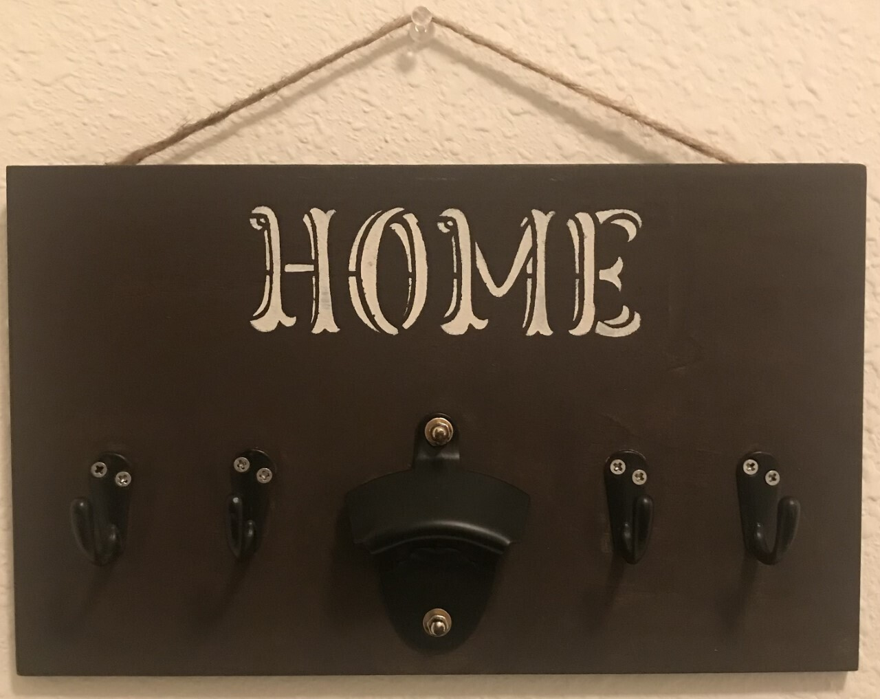 Home Wooden Hanger     7x12 inches