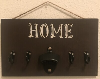 Home Wooden Hanger  |  7x12 inches