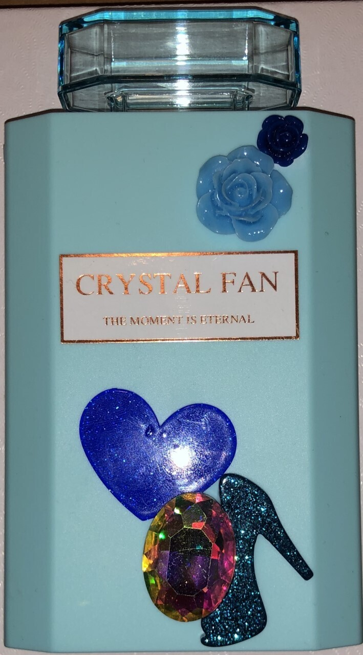 Blue Heel Handheld Fan