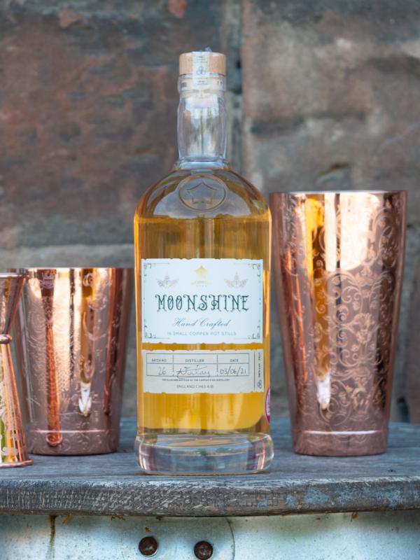 Moonshine Barrel Aged Gin - 70cl