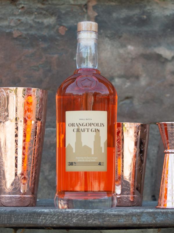 Orangopolis Gin - 70cl