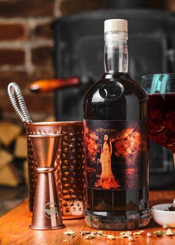 Aelfscyne Liquorice and Blackcurrant Gin - 70cl