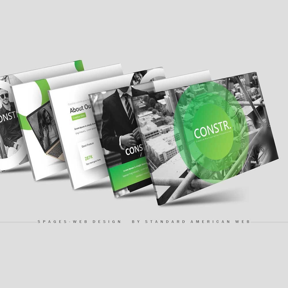 5 Page Website - Fully RESPONSIVE