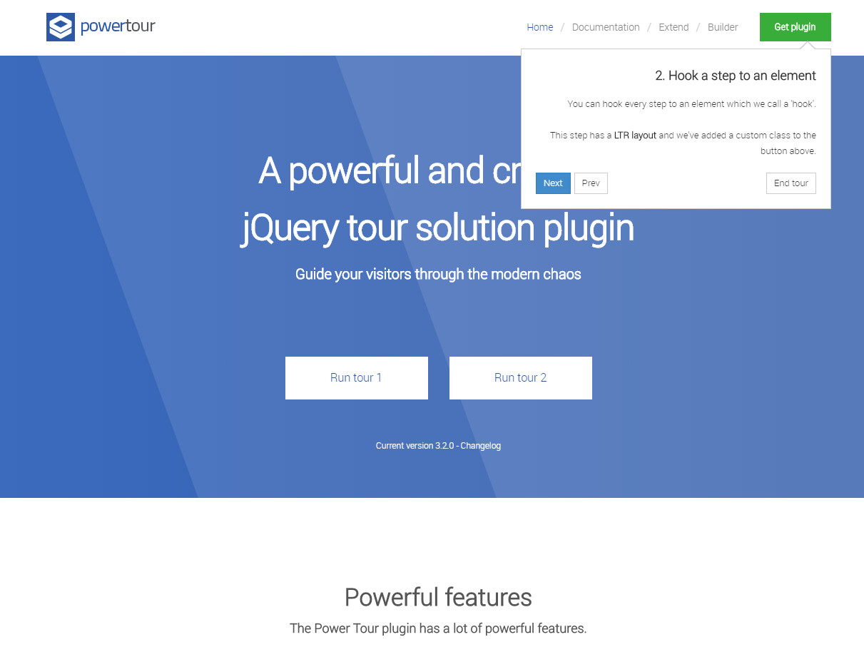Power Tour - For Websites