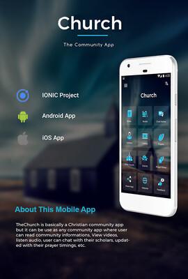 CHURCH - Mobile Development