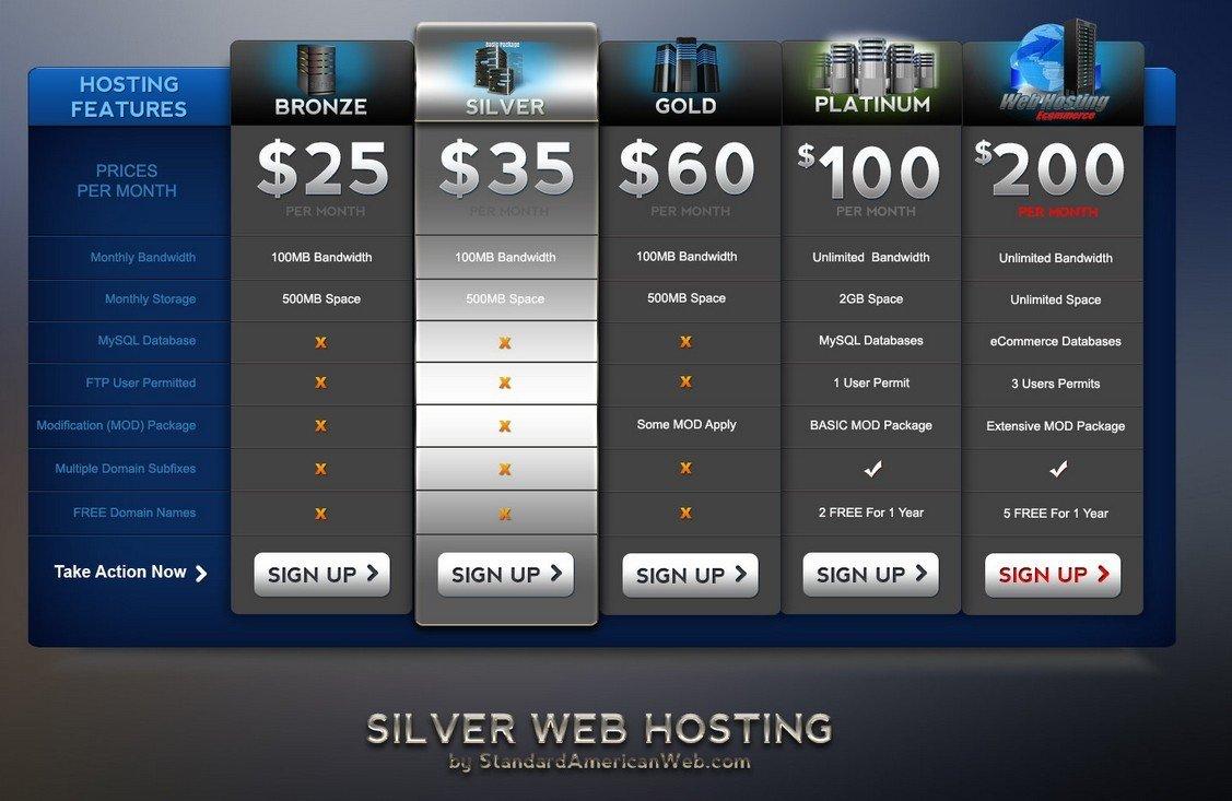 Web Hosting 3 - SILVER