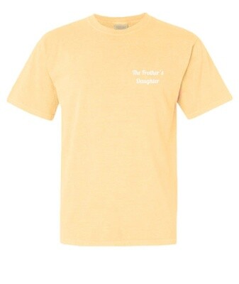 Classic Sunny Yellow Frother's Daughter Tee