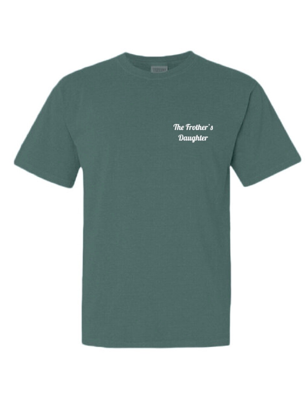 Classic Blue Spruce Frother's Daughter Tee