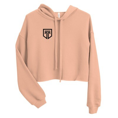 Cropped Pullover Hoodie