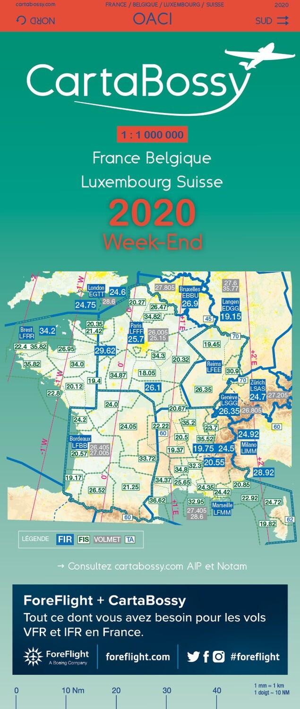 CartaBossy France Week-End 2020