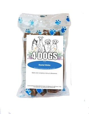 4DOGS SNACK DENTAL | Dental Sticks Multi Pack 5 PZ
