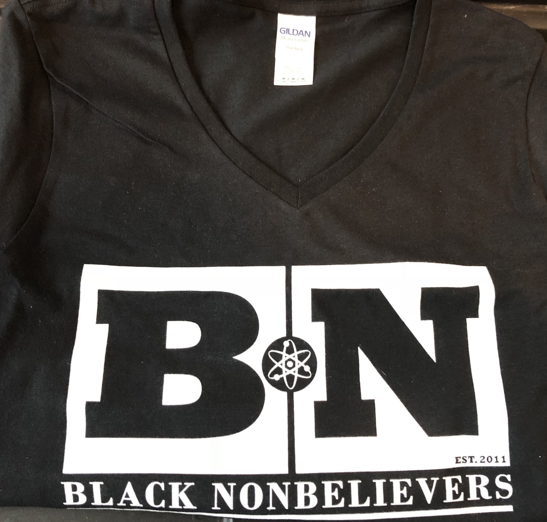 BN Logo T-shirt - Black (Women's Cut)