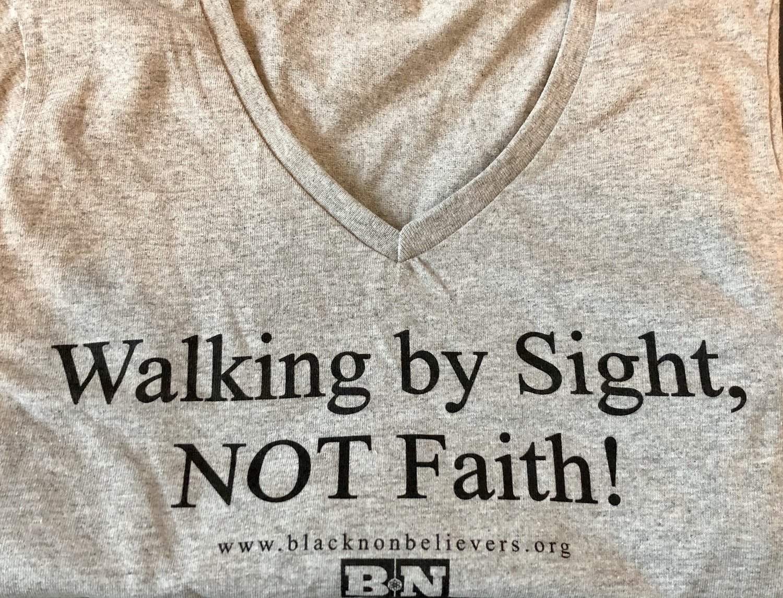 BN Slogan T-shirt - Grey (Women's Cut)