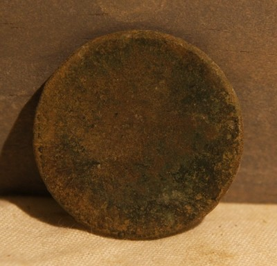2/19 - PRICE JUST REDUCED 33% - THE BATTLE OF ANTIETAM / MILLER'S CORNFIELD -  Old Copper Coin - Probably Pre-Civil War - Found between 1975 and 1979