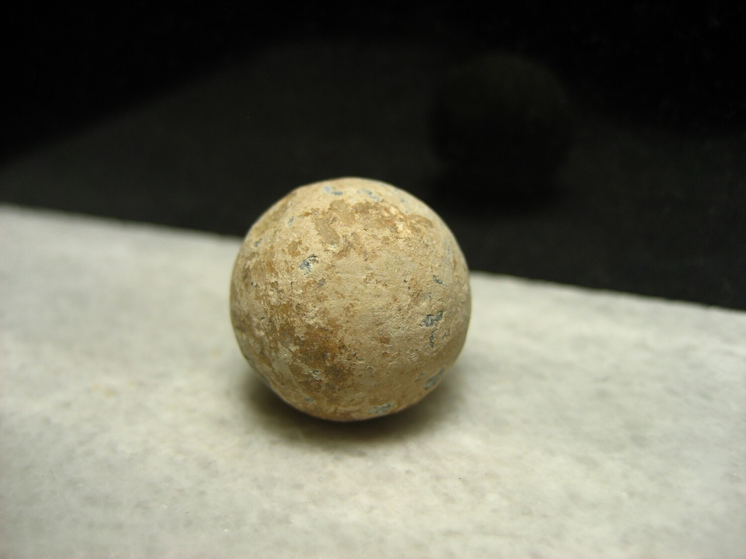 JUST ADDED ON 11/6 - THE SECOND BATTLE OF MANASSAS / FAIRFAX STATION - .69 Caliber Musket Ball