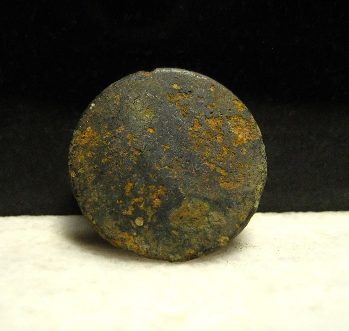 JUST ADDED ON 1/8 - THE BATTLE OF CEDAR MOUNTAIN - Coat Sized Coin or Flat Button (Confederate Use Likely)
