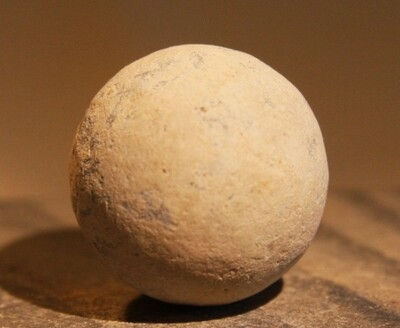 JUST ADDED ON 2/19 - THE BATTLE OF GETTYSBURG / EMMITSBURG ROAD JUST SOUTH OF THE POSITION HELD BY LAW'S BRIGADE - .69 Caliber Musket Ball