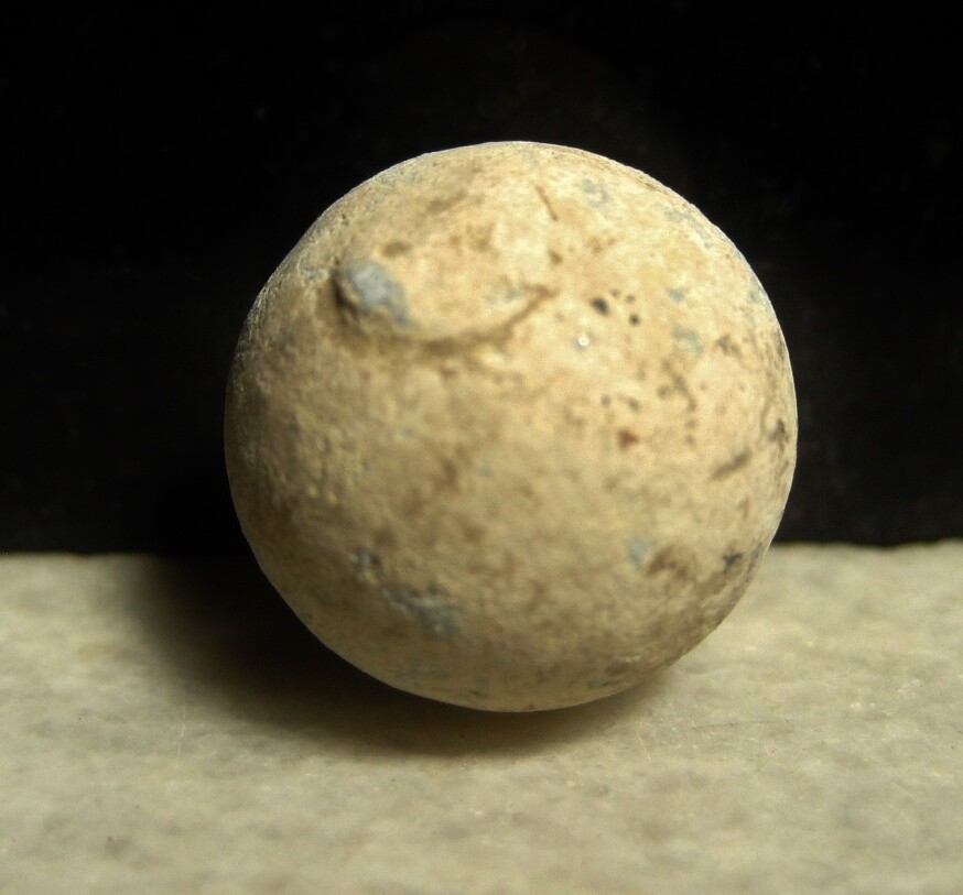 JUST ADDED ON 2/26 - THE BATTLE OF GETTYSBURG / CASHTOWN / CONFEDERATE APPROACH - .69 Caliber Musket Ball with Sprue