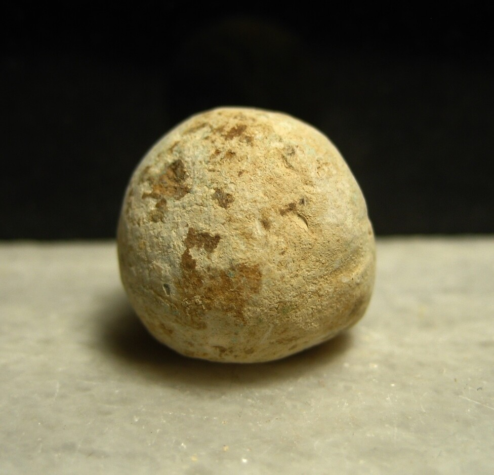 JUST ADDED ON 4/15 - 1862 PENINSULA CAMPAIGN / HARRISON'S LANDING / III CORPS AREA - .69 Caliber Musket Ball - Recovered by Andy Keyser in the late 1980s