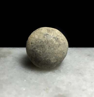 JUST ADDED ON 7/1 - GETTYSBURG - CEMETERY RIDGE / SEDGWICK MONUMENT to SLOPE OF LITTLE ROUND TOP / ROSENSTEEL FAMILY - Fired .69 Caliber Musket Ball or Artillery Shell Case Shot
