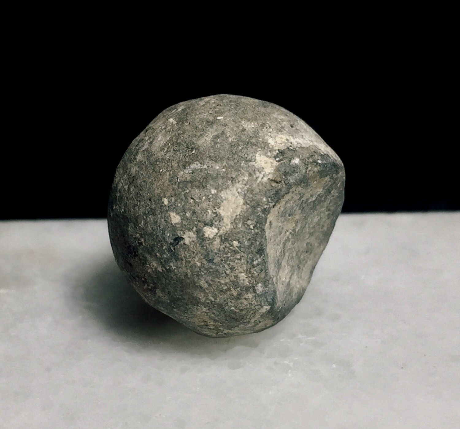 JUST ADDED ON 7/15 - GETTYSBURG  / DEVIL'S DEN / ROSENSTEEL FAMILY - Fired .69 Caliber Musket Ball