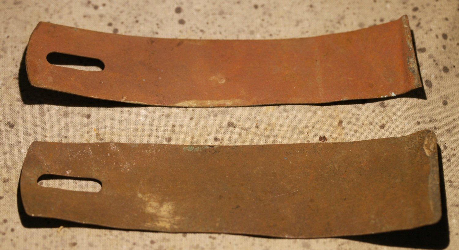 JUST ADDED ON 11/8 - THE BATTLE OF SPOTSYLVANIA - Two Pieces of Soldier's Shoulder Scales