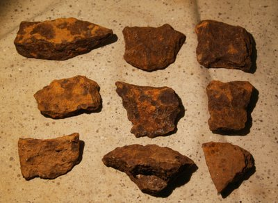 JUST ADDED ON 5/30 - THE BATTLE OF RESACA / SHERMAN'S ATLANTA CAMPAIGN - 9 Artillery Shell Fragments