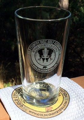 GCDGA Club Pint Glass (pickup only)